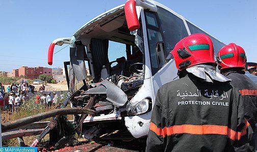 Province d'Errachidia : Six morts dans le renversement d'un autocar à cause des crues