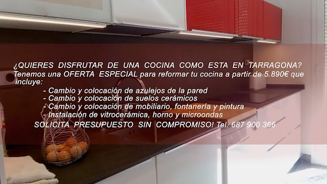 Reformar la cocina en Tarragona