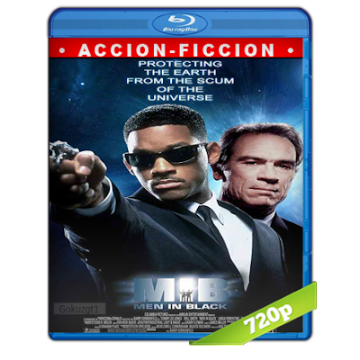 Hombres De Negro (1997) BRRip 720p Audio Trial Latino-Castellano-Ingles 5.1