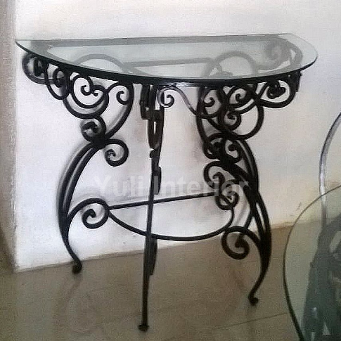 Buy Wrought Iron Console Table Online in Port Harcourt, Nigeria