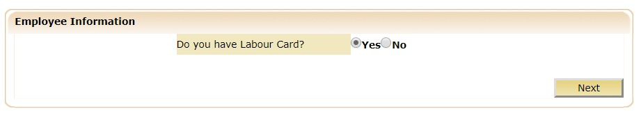 do you have labor card