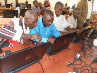 Photo d'Enseignants à Kolwezi dans le cadre de l'IFADEM