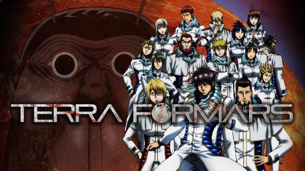 Terra Formars - Anime Mirip Tokyo Ghoul