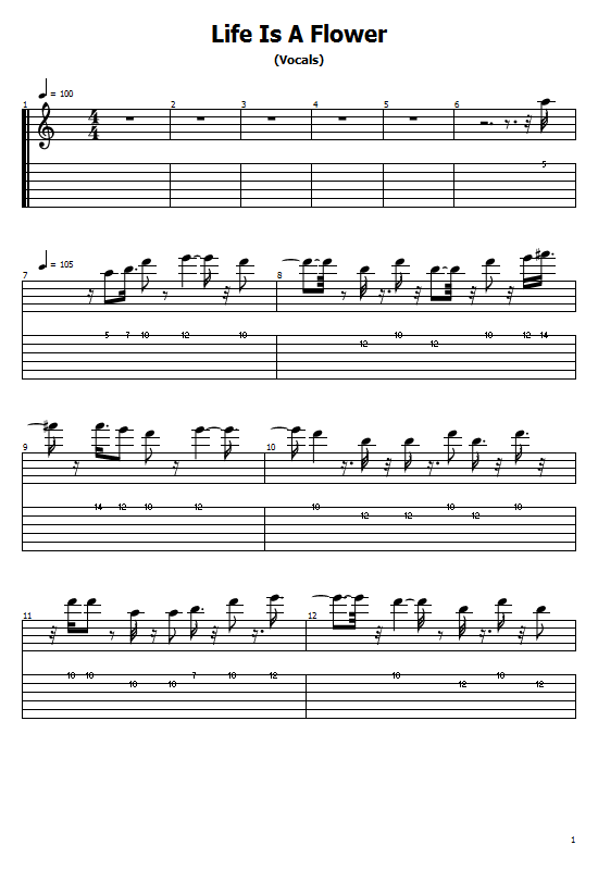 Life Is A Flower Tabs Ace Of Base. How To Play Ace Of Base Life Is A Flower On Guitar/ Life Is A Flower Free Tabs/ Sheet Music. Ace Of Base - Life Is A Flower