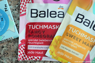 Review: Sweet, Cool, Fancy - bunte Balea Masken - www.annitschkasblog.de