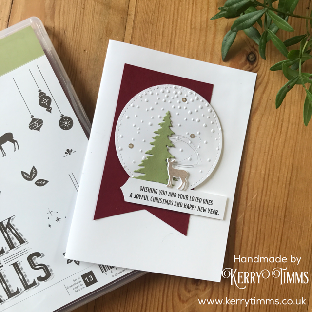kerry timms handmade card stampin up crafting christmas hobby craft create papercraft stamp scrapbooking make simplicity
