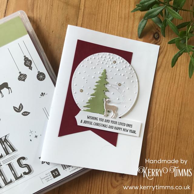 kerry timms handmade card stampin up crafting christmas hobby craft create papercraft stamp scrapbooking make simplicity