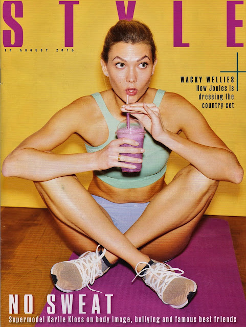 Fashion Model, @ Karlie Kloss - The Sunday Times Style Magazine, August 2016