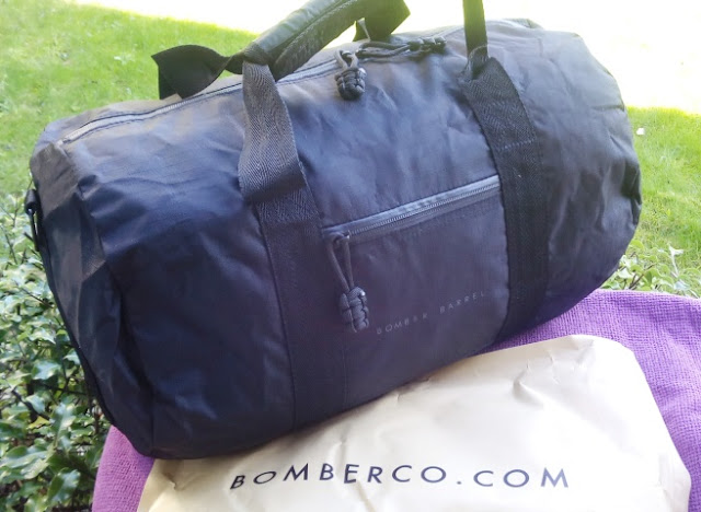 Bomber Barrel Dark Duffle Weekender Bag