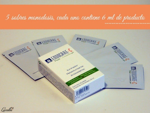 Endocare-C Peel Gel sobres