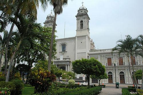 Edificios de Colima, México