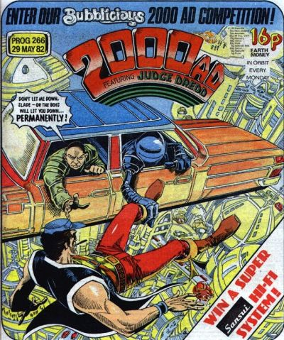 2000 AD Prog 266, Robo-Hunter