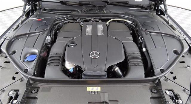 Động cơ Mercedes S450 L Star 2019 vận hành mạnh mẽ và vượt trội