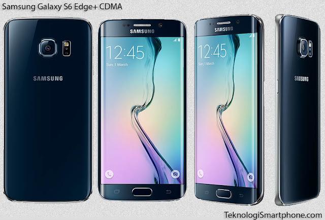 Spesifikasi dan Harga Samsung Galaxy S6 Edge+ (CDMA)