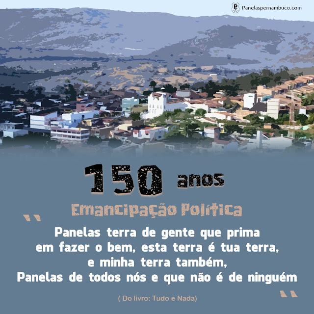 150 anos de emancipação política de Panelas-PE.