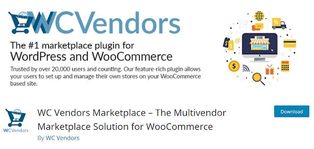 3 Plugin WordPress yang Wajib Diinstall di Website Toko Online - WC Vendor Marketplace Plugin