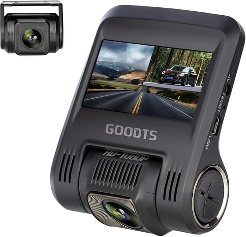 Review GOODTS Full HD Dash Camera for Cars