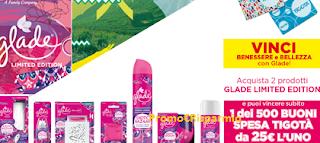 Logo Con Glade vinci 500 buoni spesa Tigotà