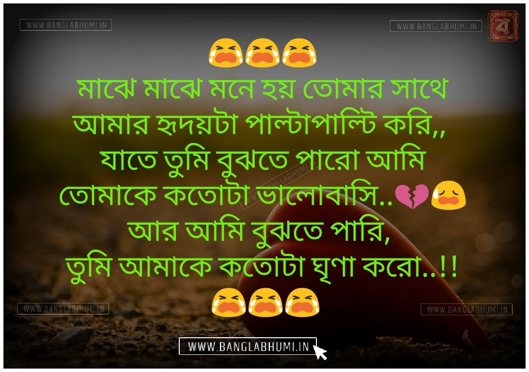 Whatsapp & Facebook Bangla Sad Love Shayari Download & share
