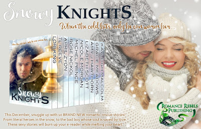 #12DaysofGiveaways Day 12: Romance Rebels Publishing SNOWY KNIGHTS