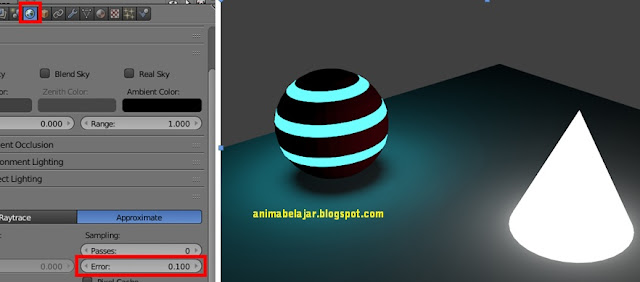 Blender Tutorial Newbie : Konsep Light Modelling