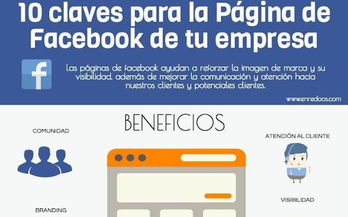 10 Claves para tener la mejor Página de Empresa en Facebook
