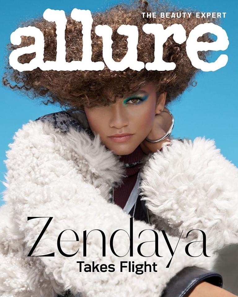 Zendaya for Allure US December 2019/January 2020