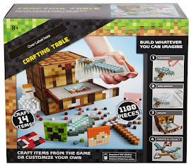 Minecraft Mattel Crafting Table Gadget