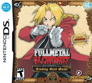 Rom Fullmetal Alchemist Trading Card Game NDS