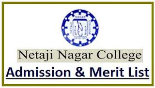 Netaji Nagar College Merit List