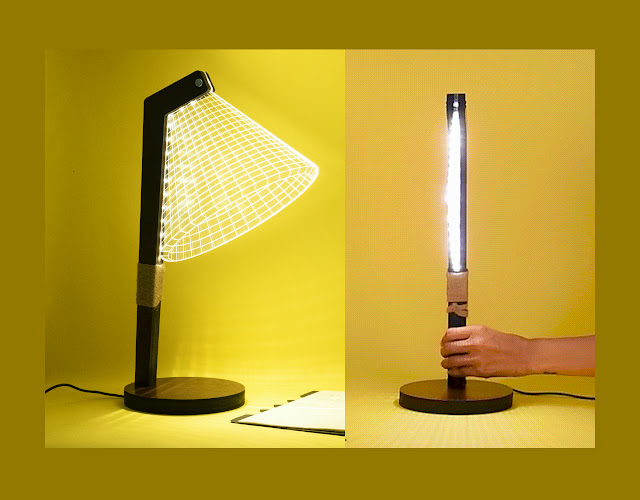 These 3D Table Lamps And 3D Illusion Lamps Will Take Your Heart Out