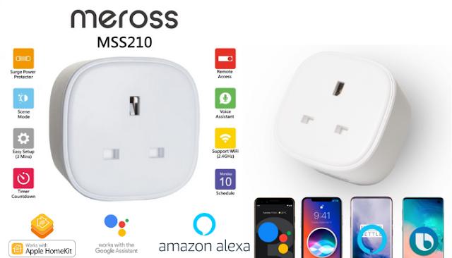 【新品】MEROSS MSS210 智能插頭 同時支援 Apple、Google 語音助理