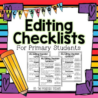https://www.teacherspayteachers.com/Product/Editing-Checklists-2616260