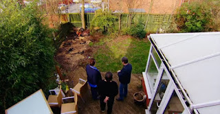 Before garden Alan Titchmarsh Darren and Lesley Chan