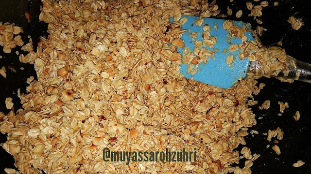 Cara membuat granola