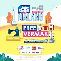 Vermak Pakaian Gratis di JakCloth Goes to Malang