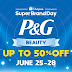 "Shopee partners with P&G to launch debut ""Super Brand Day"", up to 50% off on beauty products"
