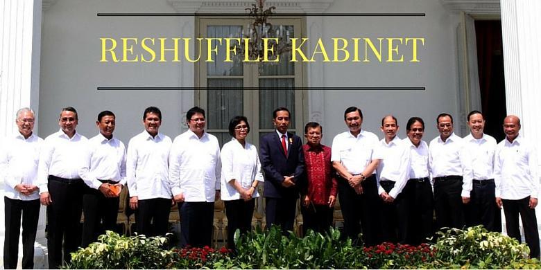 nama menteri baru hasil reshuffle kabi  kerja jilid 2