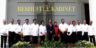 Nama Menteri Baru Hasil Reshuffle Kabinet Kerja Jilid 2