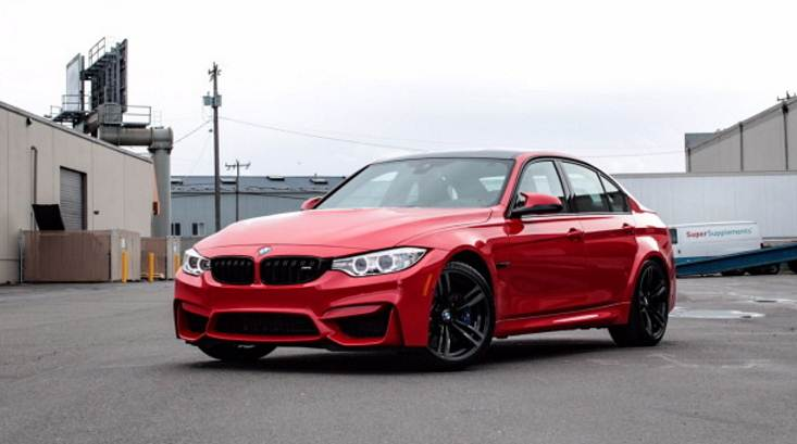 Bmw M3 In Ferrari Red Individual Color Auto Bmw Review