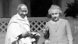 Gandhi és Einstein