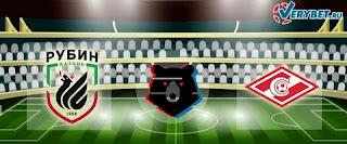 Рубин — Спартак М: прогноз на матч, где будет трансляция смотреть онлайн в 16:30 МСК. 20.09.2020г.