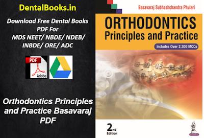 Orthodontics Principles and Practice Basavaraj PDF DOWNLOAD