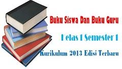Buku Siswa Dan Buku Guru Kelas 1 Semester 1 Kurikulum 2013 Edisi Terbaru