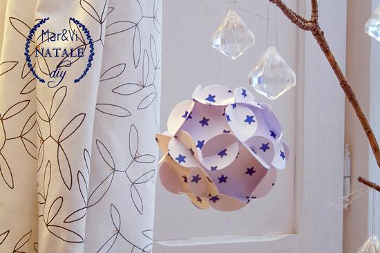 Adornos de Navidad de papel