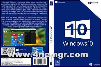 Windows 10 Professional Build 1511 (x86/x64) En-Us Update May 2016