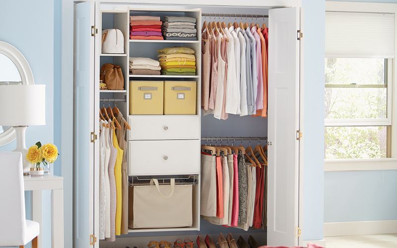 10 Ideas To Organize A Small Closet