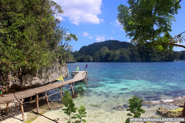 Pangabangan Island in Dinagat