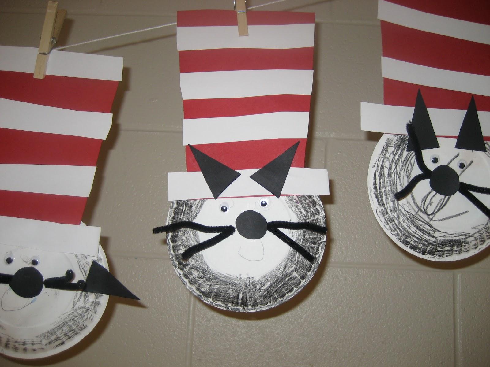 Dr Seuss Hat Theme Day In Preschool