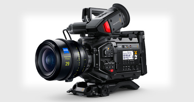 Blackmagic svela una telecamera da 80MP in grado di girare video RAW 12K a 60 fps